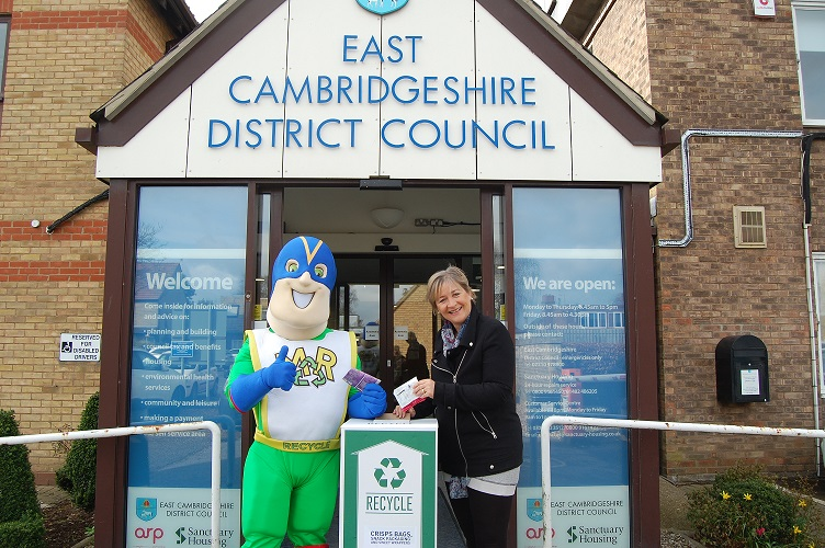 East Cambs follows in Walkers' footsteps to deliver new recycling scheme