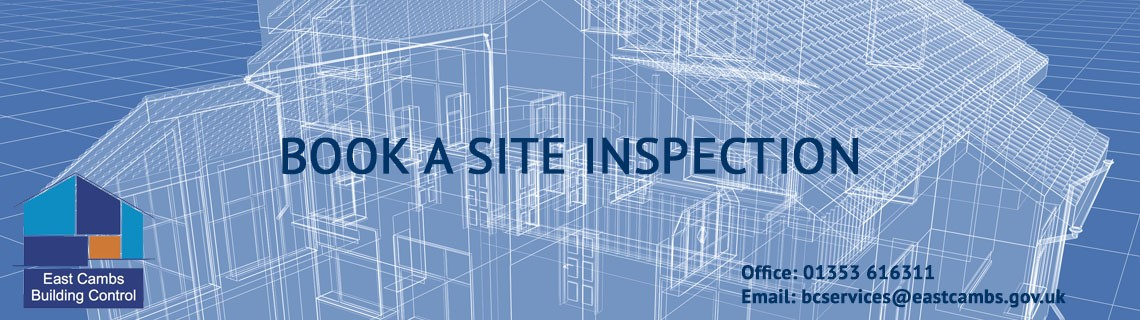 Book a site inspection
