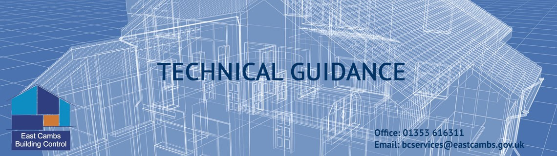 Building control technical guidance